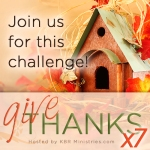 Give Thanks Challenge 2015 Square