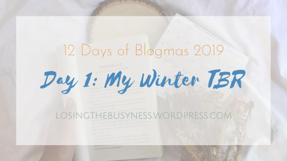 My Winter TBR 2019