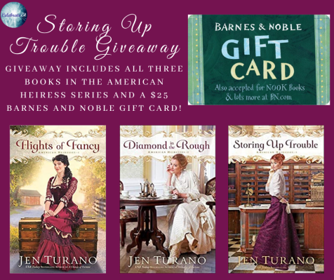 Storing Up Trouble Giveaway