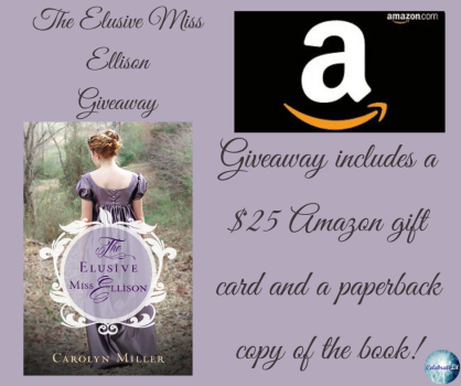 The Elusive Miss Elison Giveaway